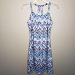 prAna Blue Quinn Dress Large